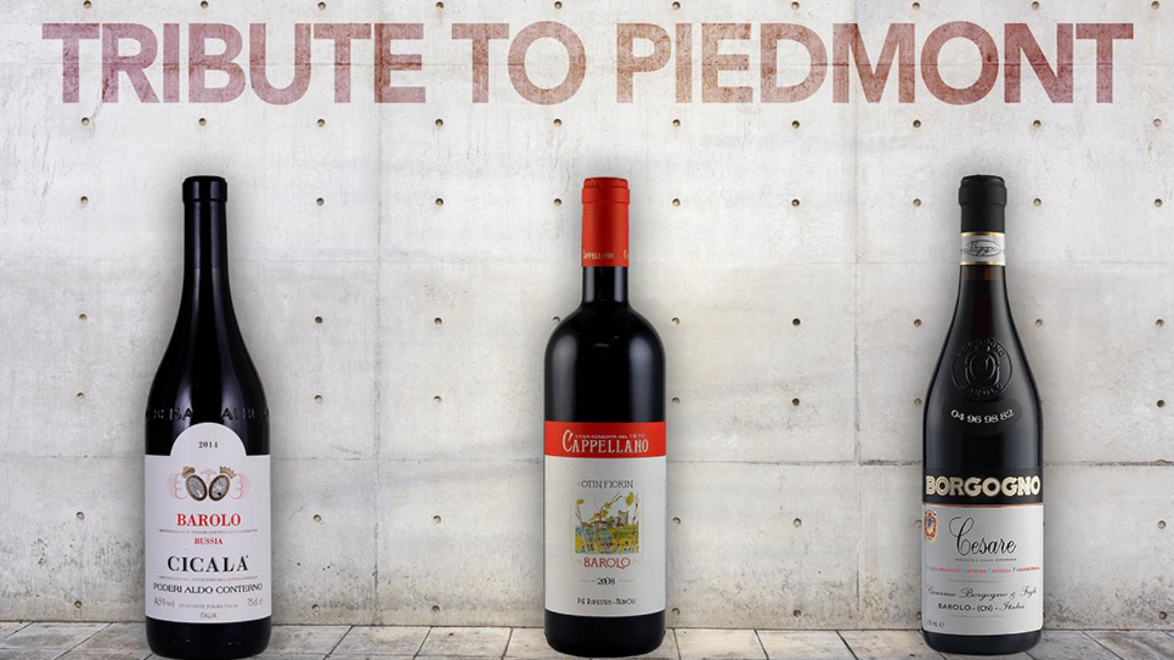 3 barolo da mito | Tributo al Piemonte
